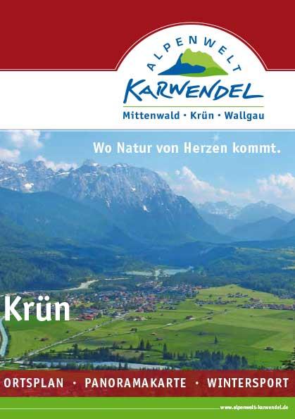 Ortsplan von Krün