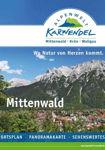 Ortsplan von Mittenwald