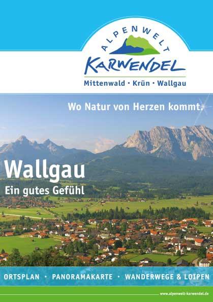 Ortsplan von Wallgau