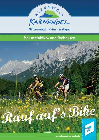 Fahrrad- und Mountainbiketouren rund um Krün, Wallgau und Mittenwald