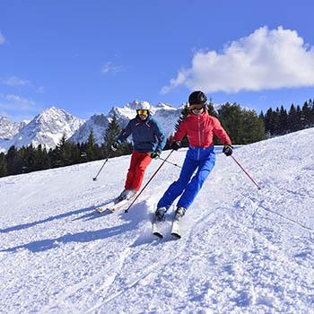 Skifahren am Kranzberg in Mittenwald