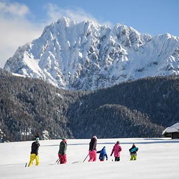 Winterwanderung in Krün und Wallgau